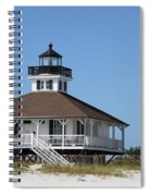 Boca Grande Light Spiral Notebook