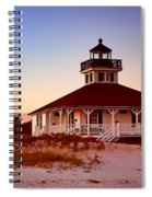 Boca Grande Lighthouse - Florida Spiral Notebook
