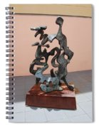 Boca Sculpture Spiral Notebook
