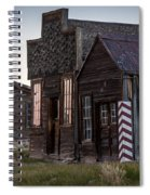 Bodie Bar And Barber Spiral Notebook