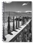 Bodie California Long Dusty Road Spiral Notebook