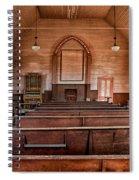 Bodie Church Spiral Notebook