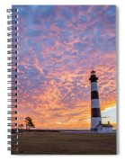 Bodie Island Lighthouse At Sunrise Vetical Spiral Notebook