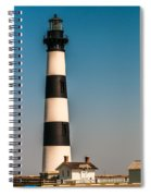 Bodie Island Lighthouse Obx Cape Hatteras North Carolina Spiral Notebook