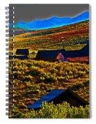 Bodie Sunset Spiral Notebook