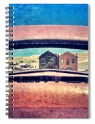 Bodie Through Car Window Spiral Notebook