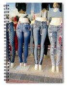Body Parts Spiral Notebook