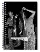 Body Talk Poster Prize Jello Wrestling Contest Gay Bar Tucson Arizona July 4th 1992 Spiral Notebook