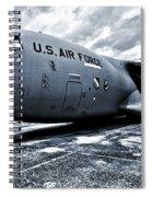 Boeing C-17 Airplane Spiral Notebook