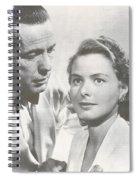 Bogart And Bergman Spiral Notebook