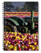 Bogged Down By Color Spiral Notebook