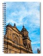 Bogota Cathedral Front Spiral Notebook