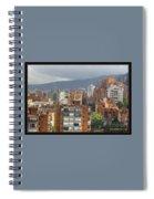 Bogota City View Spiral Notebook