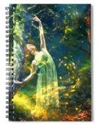 Bohemian Dancer Fantasy Spiral Notebook
