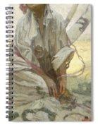 Bohemian Sun Dreamer Spiral Notebook