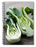 Bok Choy Spiral Notebook