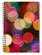 Bokeh Spiral Notebook