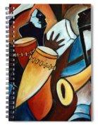 Bolero In Acrylic Spiral Notebook