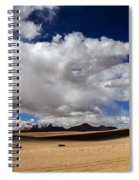 Bolivia Cloud Valley Spiral Notebook