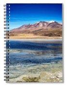 Bolivia Desert Lake Framed Spiral Notebook
