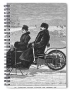 Bollee Carriage, 1898 Spiral Notebook