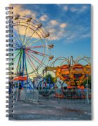 Bolton Fall Fair 4 Spiral Notebook
