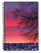 Bolton Sunset Spiral Notebook