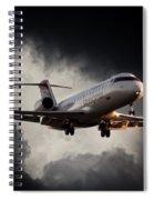 Bombardier Landing Spiral Notebook