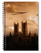 Bomber Country  Spiral Notebook
