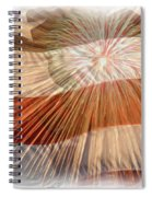 Bombs Bursting In Air Spiral Notebook