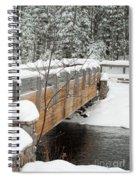 Bond Falls Bridge Spiral Notebook