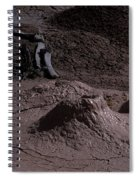 Bones At Mud Pot Area I I Spiral Notebook