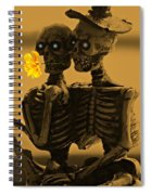 Bones In Love  Spiral Notebook