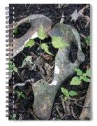 Bones On The Forest Floor Spiral Notebook