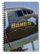 Bones Spiral Notebook