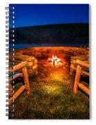 Bonfire Spiral Notebook