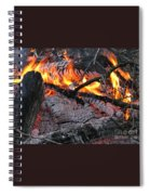 Bonfire Spiral Notebook