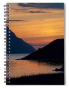 Bonne Bay Sunset Spiral Notebook