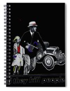 Bonnie And Clyde Poster 1967 Death Valley California 1968-2009 Spiral Notebook