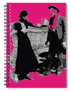 Bonnie Parker Aiming Rifle At Clyde Barrow March 1933 Spiral Notebook
