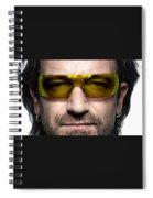 Bono  Spiral Notebook