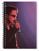 Bono U2 Spiral Notebook