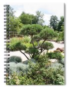 Bonsai In The Park Spiral Notebook