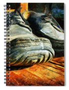 Boogie Shoes - Walking Story - Drawing Spiral Notebook
