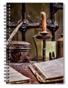 Book Keeper Spiral Notebook