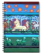 Book Of Hours Spiral Notebook