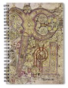 Book Of Kells Christ Page Spiral Notebook