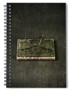 Book With Glasses Spiral Notebook