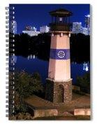 Boom Island Light House Spiral Notebook