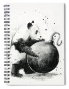Boom Panda Spiral Notebook
